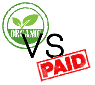 organic traffic vs paid traffic