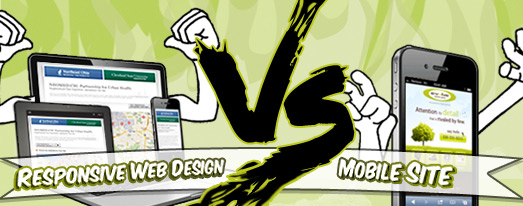 responsive website vs mobile site