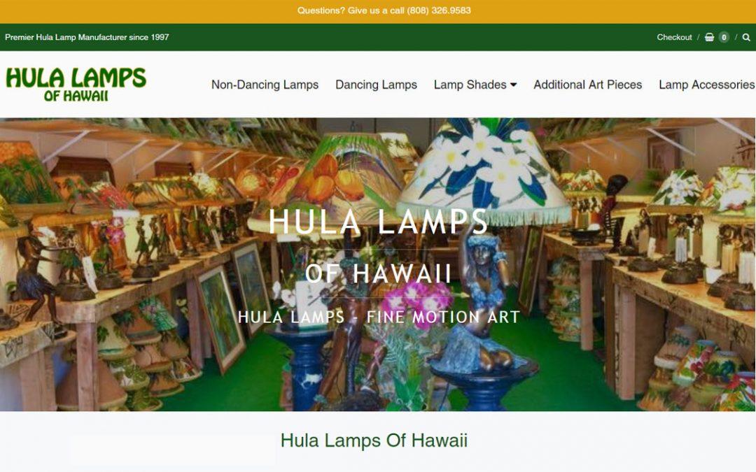 Hula Lamps of Hawaii