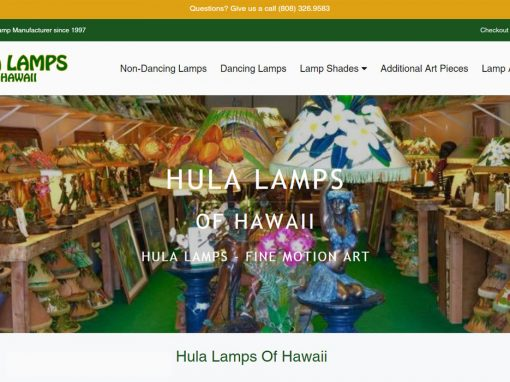 Hula Lamps of Hawaii